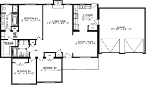 open floor plan ranch homes cottonwood by apex modular homes ranch floorplan