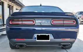 2015 dodge challenger lights stainless tail light trim for 2015 2017 dodge challenger pfyc