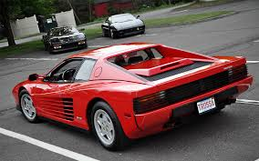 80s ferrari ferrari testarossa and a few beautiful friends 1920 x 1200
