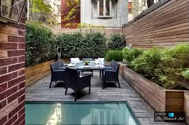 Nyc Backyard An Outside Look A Clean And Simple Upper East Side Backyard