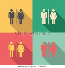 Male Female Bathroom Signs by Male And Female Symbols Stock Images Royalty Free Images