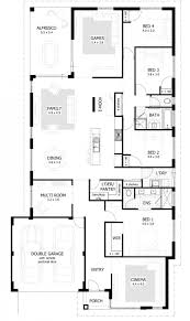 4 bedroom house plans kerala luxury one story inspired simple two