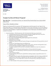 Contractor Estimate Template by Proposal Professional Templates Part 2