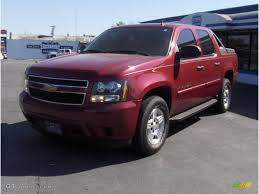 jeep avalanche 2007 sport red metallic chevrolet avalanche ls 18690724