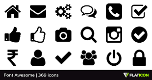 font awesome 365 free icons svg eps psd png files