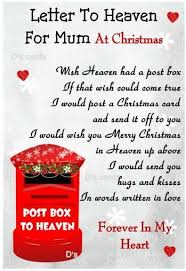 in loving memory flower graveside keepsake christmas card mum