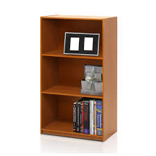 sauder beginnings cinnamon cherry open bookcase 409086 the home