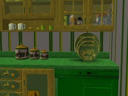 deere kitchen canisters mod the sims deere kitchen and dining set rgiles