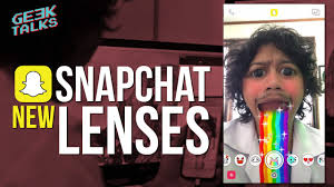 bikin video animasi snapchat new snapchat lenses how to get new face effects geektalks 12