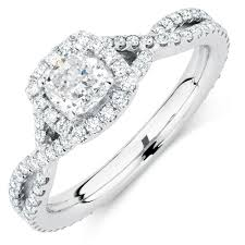 5 Carat Cushion Cut Engagement Rings Michael Hill Designer Grandadagio Engagement Ring With 1 1 5 Carat