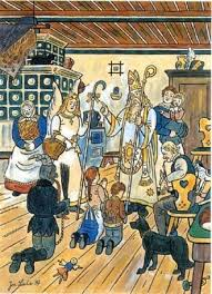 illustration by josef lada st nicholas day czech u0026 slovak