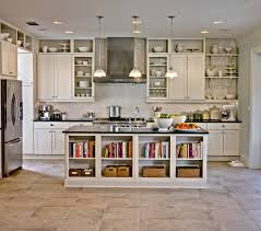 Kitchen Cabinets Without Doors Interesting  Open Shelving In The - Kitchen cabinet without doors