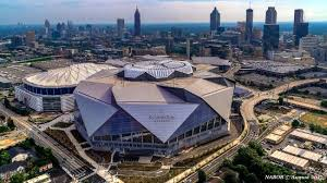 mercedes downtown mercedes stadium just outside downtown picture of atlanta