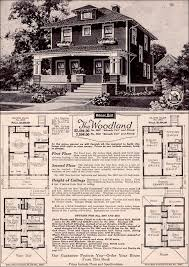 sears homes floor plans the woodland by sears modern homes 1923 foursquare kit house