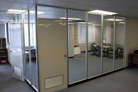 with glass partition walls by cubiclescom hiny hiders commercial