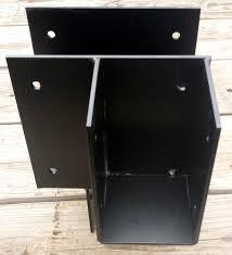 Pergola Post Base by Custom Decorative Metal Brackets