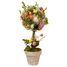 Ny Topiary - national tree company 17 in garden accents easter egg topiary