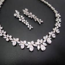 necklace wedding sets images 58 bridal necklaces crystal wedding necklace set crystal bridal jpg