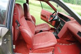 renault fuego interior freaky french folly 1984 renault fuego
