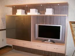 Entertainment Center Ideas Diy Furniture Excellent Oak Unfinished Floating Entertainment Center