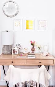 Girly Desk Accessories by Interiors Styling Ideas And Holiday Decor From The Fashionable