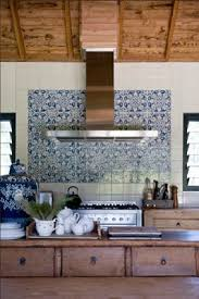 decoration unique blue and white kitchen backsplash tiles best 25