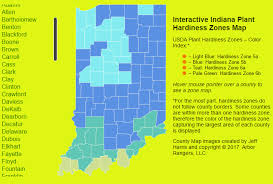 Indiana vegetaion images Usda plant hardiness zone map indiana arbor rangers png