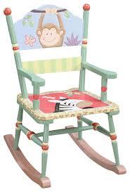 Sunny Safari Bookcase Teamson Kids Sunny Safari Hand Painted Rocking Chair Traditional