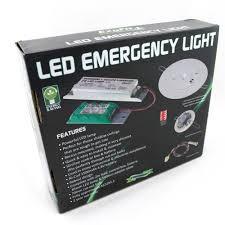 emergency lights with battery backup ezyfit led spitfire recessed emergency backup light 2w
