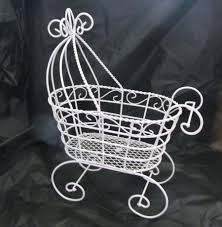 baby shower baskets and buggies wicker baby bassinet table