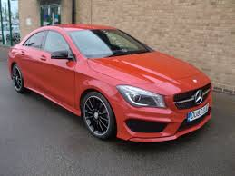 used mercedes cla used mercedes benz cla class cla 180 amg sport 4dr tip auto for