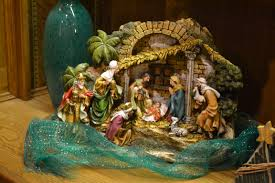 christmas decorating ideas decorating chic nativity sets with two camels and horse for