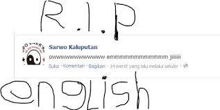 Rip English Meme - english