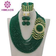 wedding bead necklace images Splendid nigerian wedding beads jewellery set choker necklace set jpg