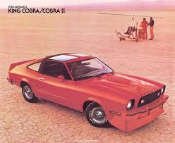 1978 king cobra mustang for sale car 1978 mustang ii king cobra the 5 0 and a