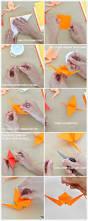 diy ombré crane garland origami cranes streamers and origami