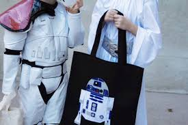 star wars costumes and trick or treat bags disney family
