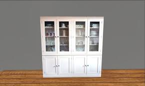 second life marketplace un needed things white china cabinet