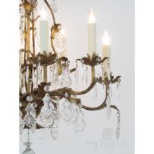 Tole Chandelier An Elegant Italian 1960 U0027s Hollywood Regency 8 Light Gilt Tole