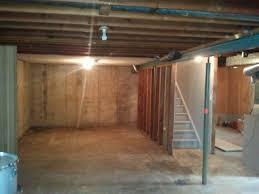 lofty inspiration unfinished basement houseonashoestring