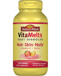 nature made vitamelts hair skin and nails