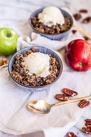 easy cooker apple crisp recipe gluten free root revel
