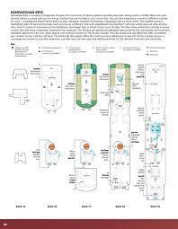 ncl epic floor plan 2011 2013 2nd edition ncl fleet brochure 88 89