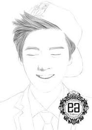 Exo Kpop Coloring Pages Pictures To Pin On Pinterest Pinsdaddy Coloring Pages Kpop