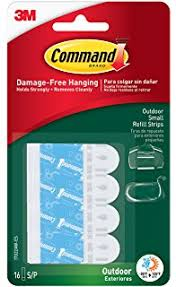command outdoor light clear 16 clip 4 pack