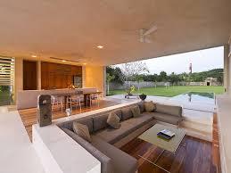 U Shape Sofa Set Designs Interior Modern Sunken Living Room With U Shaped Sofa Comfy