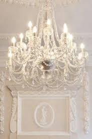 shabby chic white chandelier foter
