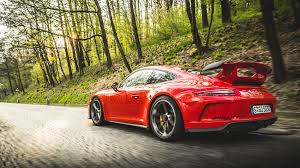 porsche matte red mercedes amg gt r vs porsche 911 gt3 twin test review 2017 by