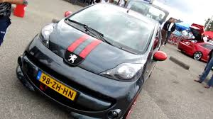 peugeot 107 fanatic tuners day 2009 ft peugeot 107 youtube