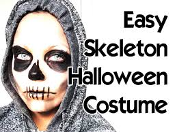 Skeleton Halloween Makeup by How To Skeleton Skull Halloween Makeup Tutorial For